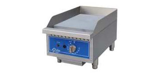 Globe® Thermostatic Gas  Countertop Griddle