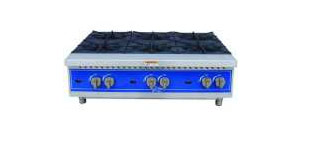Globe® 6 Burner  Gas Hot Plate