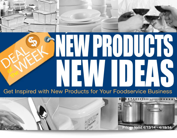 DOTW: New Products, New Ideas