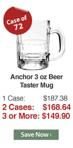 Anchor 3 oz Beer Taster Mug