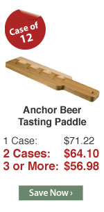 Anchor Beer Tasting Paddle