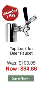 Tap Lock for Beer Faucet