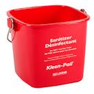 Red Sanitizing Pail