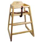 Wood Fin. Hi-Chair