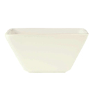 Bright White Square Bowl